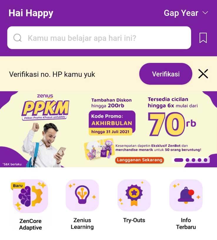 aplikasi Zenius
